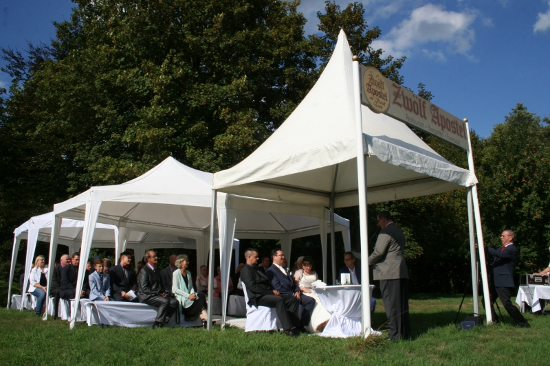 Pavillon an der Ruhr